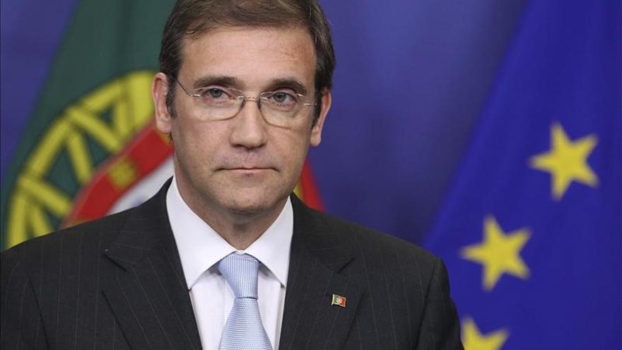 El primer ministro luso pretende revalidar su cargo en las elecciones de 2015