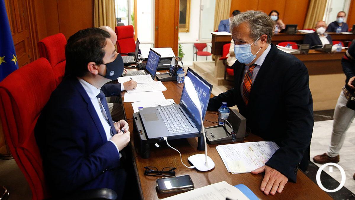 Pleno del Ayuntamiento de Córdoba de aprobación de presupuestos