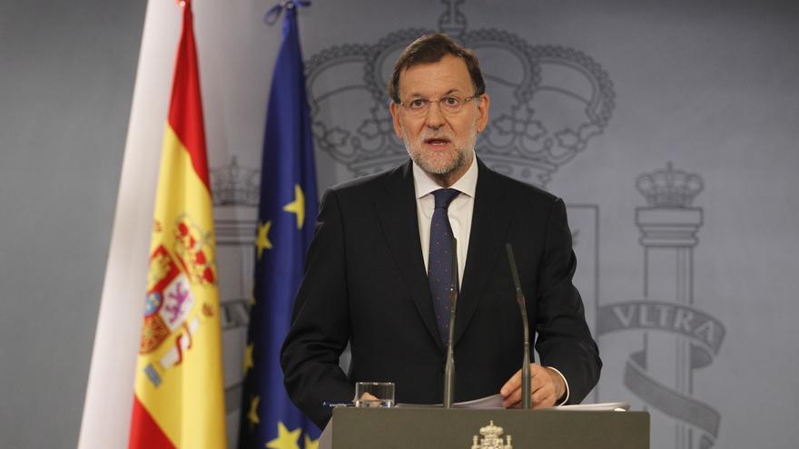 """Rajoy: """"Los partidarios de la ruptura no tienen ni el apoyo de la ley ni el de la mayoría de la sociedad"""""""