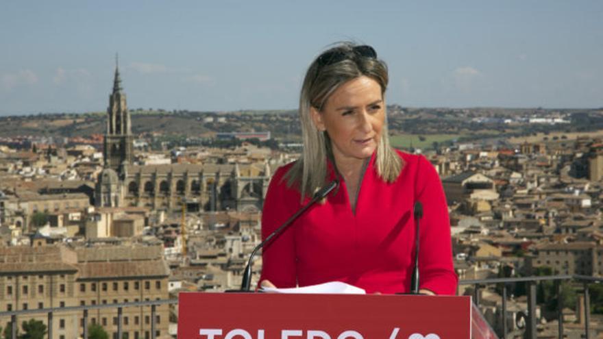 La candidata del PSOE a la Alcaldía de Toledo, Milagros Tolón / PSOE Toledo
