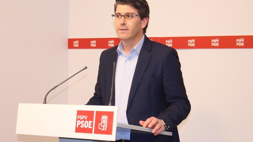 El portavoz del PSPV, Jorge Rodríguez