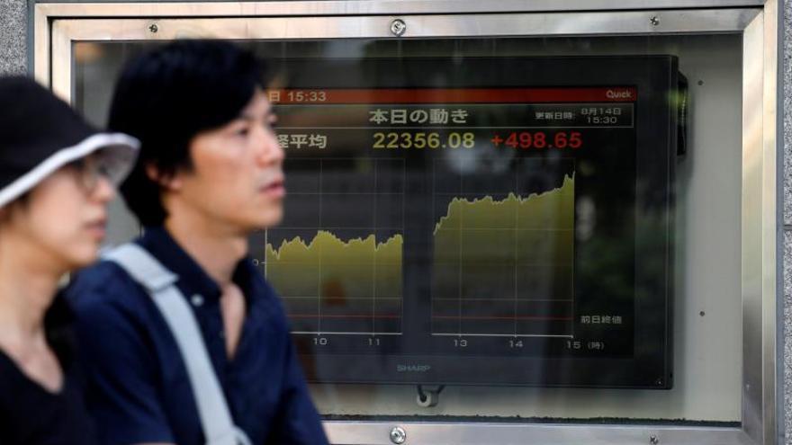 Tokio cae ante las dudas sobre los resultados empresariales de abril-junio