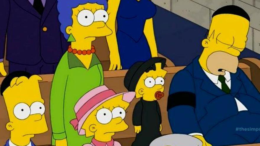 El personaje que mataron 'Los Simpson' fue...