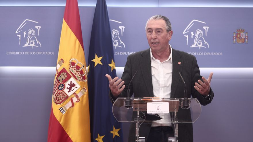 El diputado de Compromís en el Congreso, Joan Baldoví.
