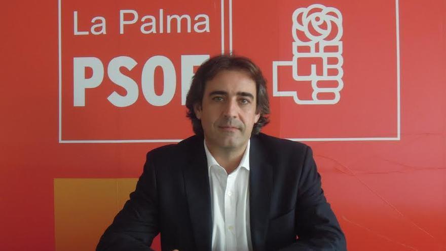Francisco Paz, alcalde de San Andrés y Sauces y candidato del PSOE al Senado por La Palma.