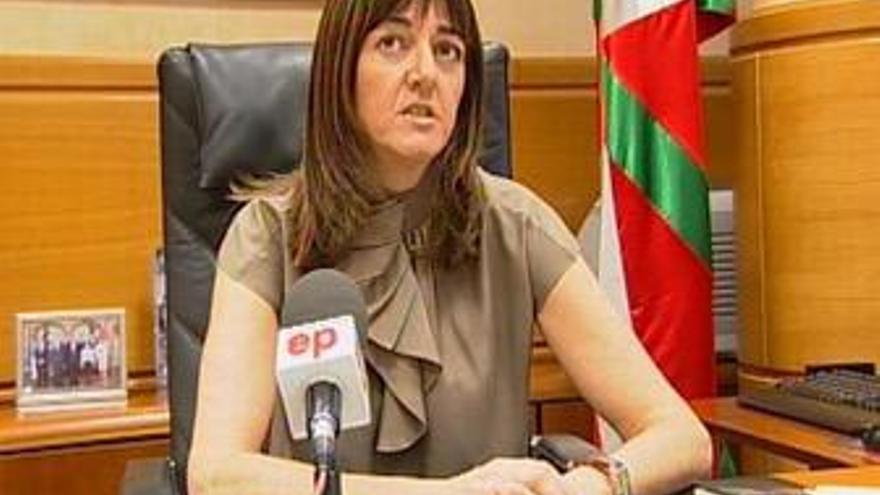 Idoia Mendia. (EUROPA PRESS)