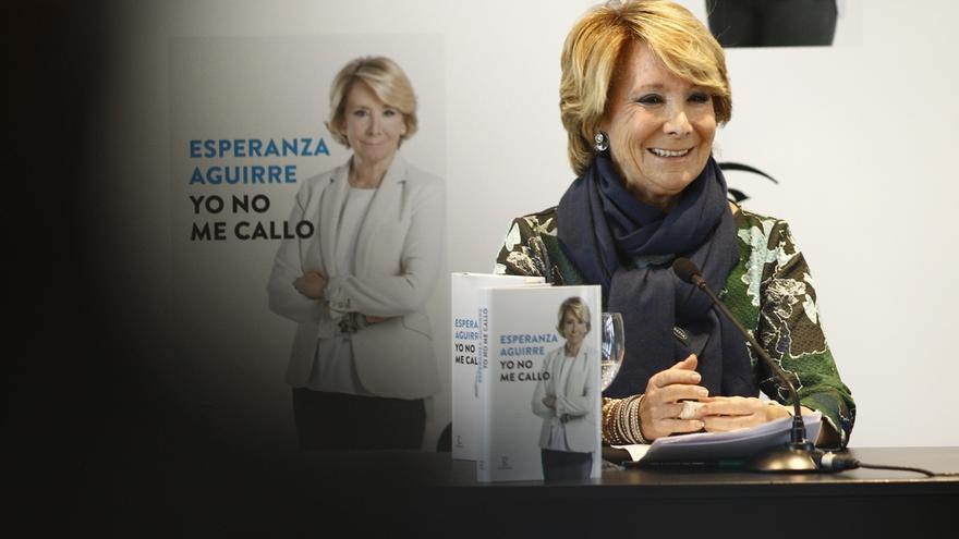 """Esperanza Aguirre dice que """"no hay okupas bueno y malos"""" porque """"todos son ilegales"""""""