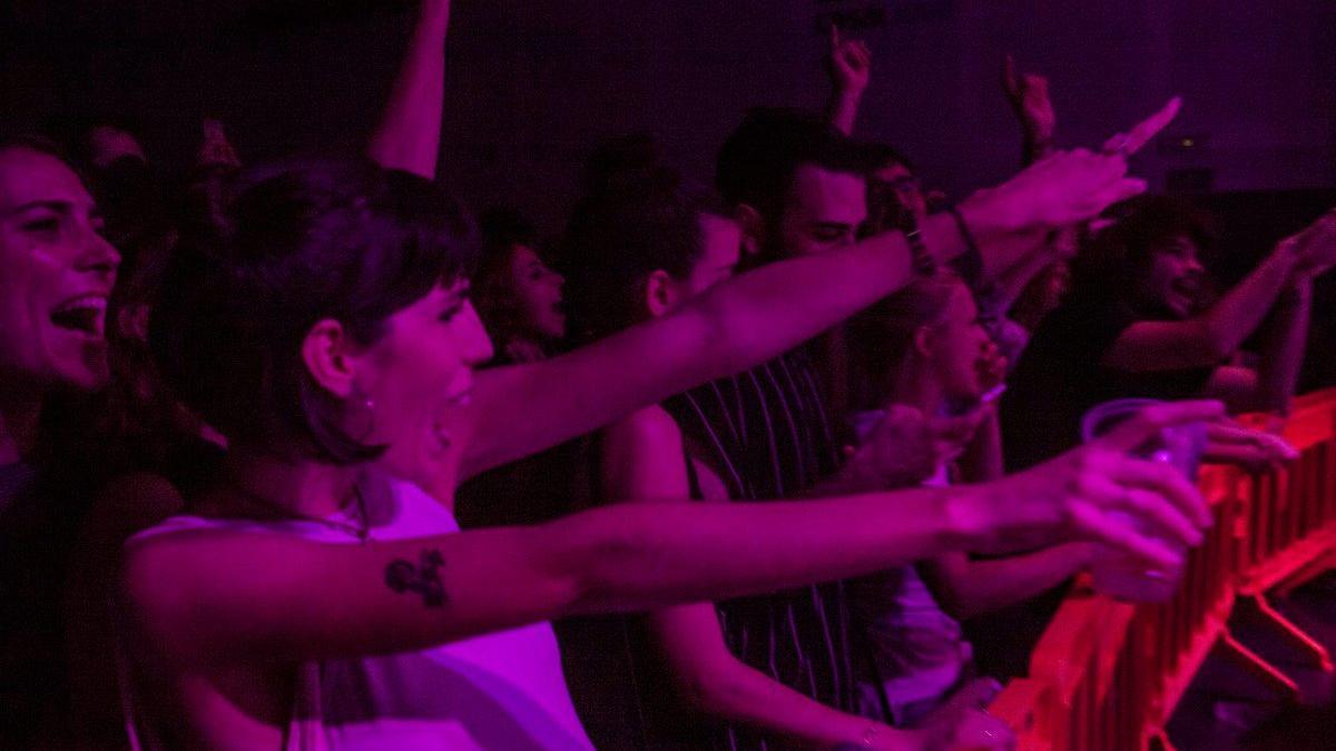 El público del festival underground Truenorayo en la edición de 2016.