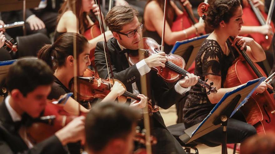 Joven Orquesta de Gran Canaria.
