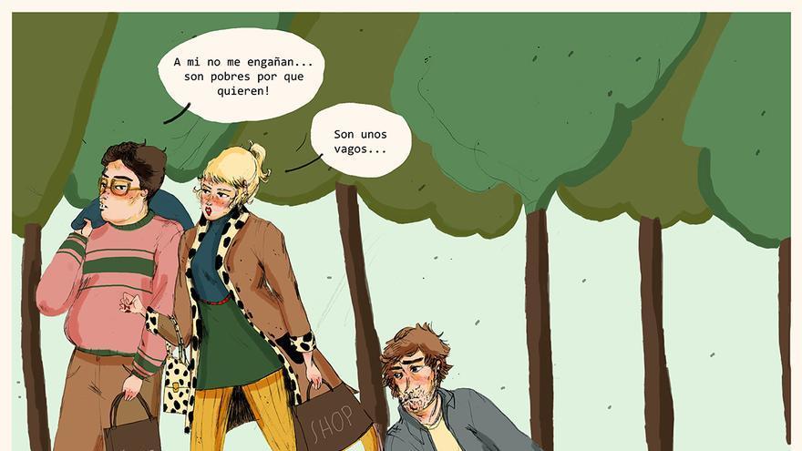 Ilustración de la artista gráfica Laura Castellón