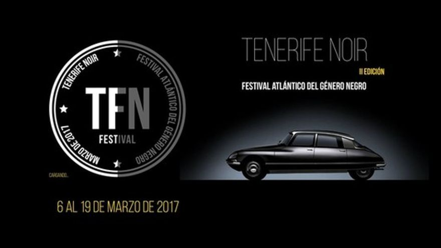 Cartel del Festival Tenerife Noir 2017
