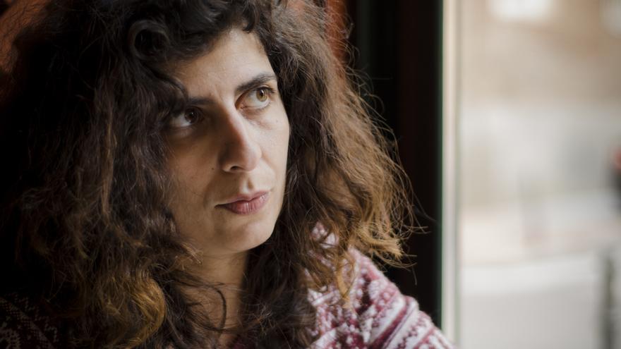 Katerina Sergidou durante la entrevista concedida a eldiario.es / Alejandro Navarro