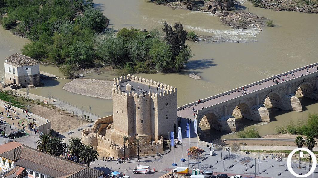 Vista aérea de la Torre de la Calahorra