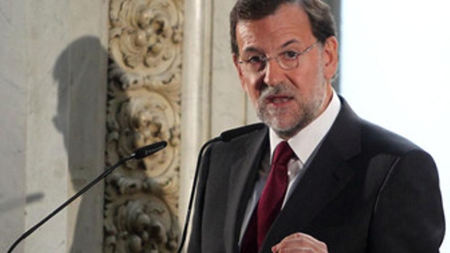 El presidente del PP, Mariano Rajoy, en el Foro ABC