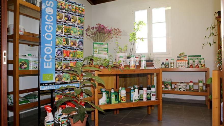 Productos agrícolas ecológicos. (Alejandro Ramos).