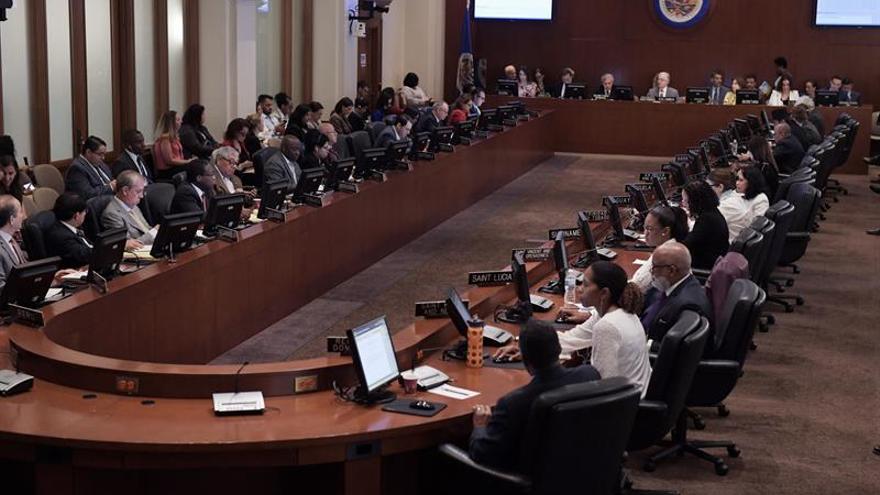 "Dieciséis países expresan en la OEA su ""pleno respaldo"" a Juan Guaidó"