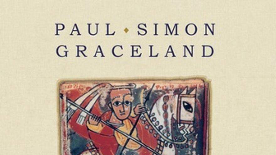 Portada del álbum Graceland de Paul Simon