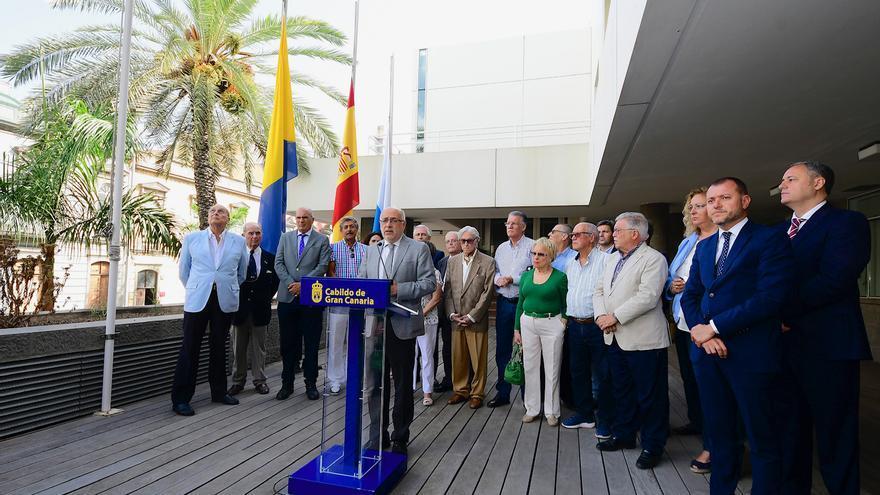 Homenaje del Cabildo de Gran Canaria a la memoria de los fallecidos por el naufragio del Valbanera.