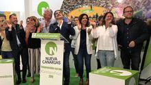 Noche electoral en la sede de Nueva Canarias.
