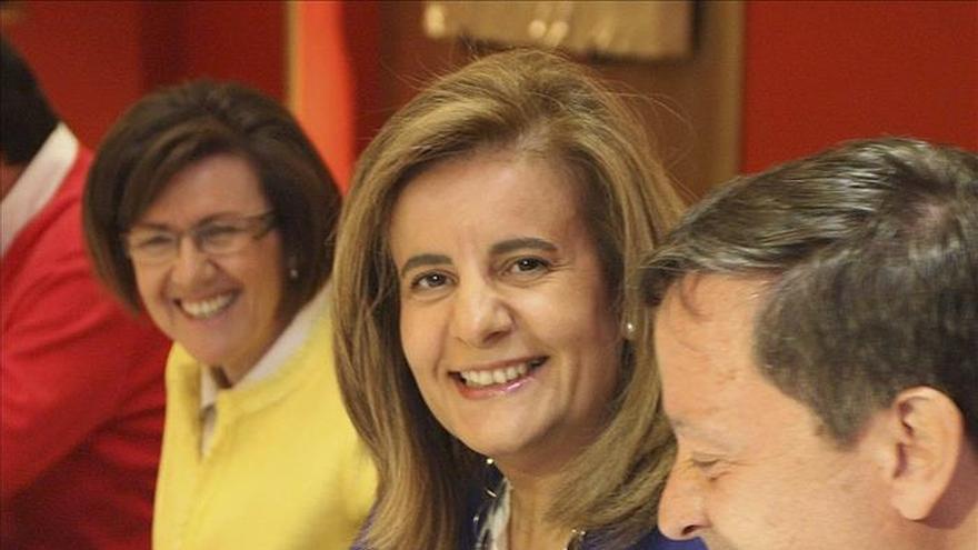 Fátima Báñez recalca que el gran objetivo nacional es la creación de empleo