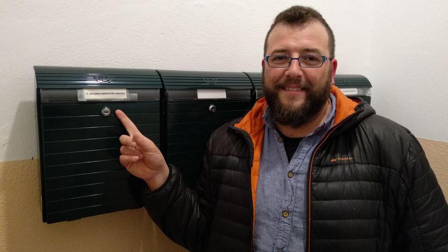 El concejal  y portavoz de Santander Sí Puede, Antonio Matecón. | LARO GARCÍA
