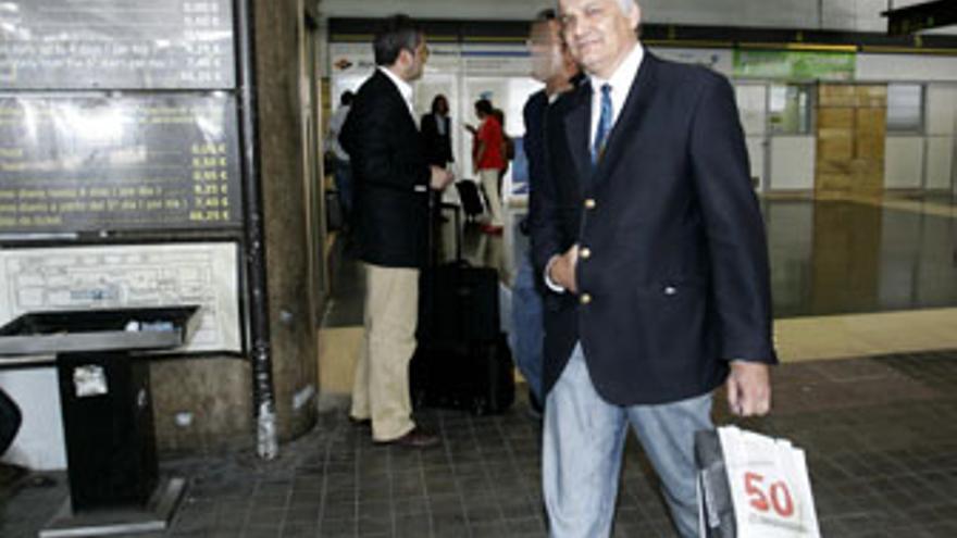José Manuel Antón Marín, administrador de Grupo Europa, el día de su detención en el marco de la 'operación Faycan'. (QUIQUE CURBELO)
