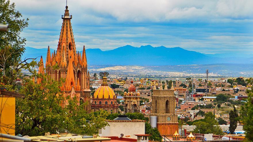 Vista de San Miguel de Allende. | Reskiebak