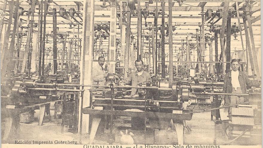 Sala de Máquinas de la Hispano Suiza de Guadalajara