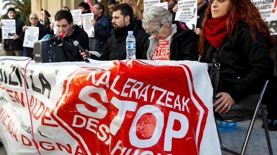 PP, PSOE, Cs y PNV se unen para convalidar la suspensión de desahucios a 2020