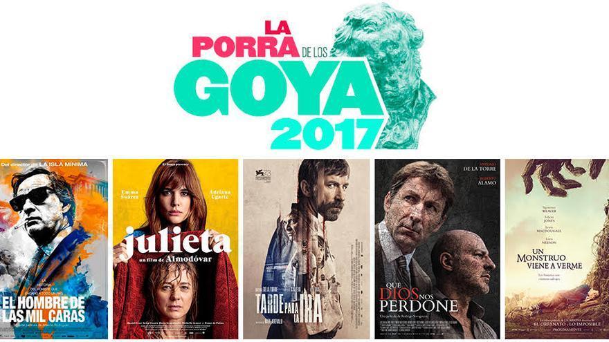 Porra de los Goya 2017