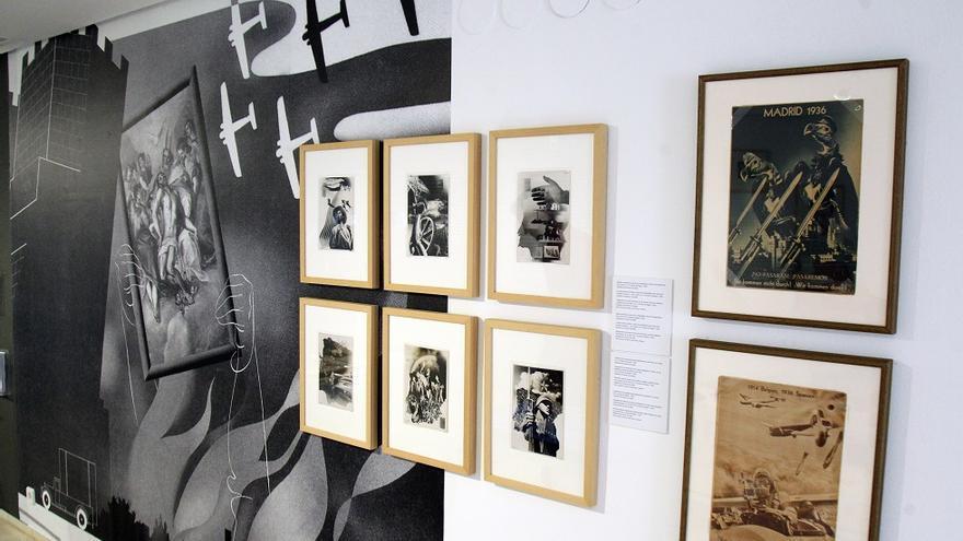 Imagen de la expoisición sobre Josep Renau en el IVAM