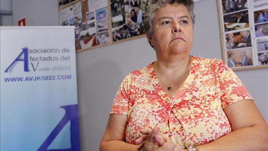 Afectados del accidente de Spanair piden justicia en Estrasburgo