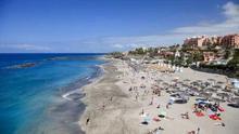 Imagen parcial de Costa Adeje, en Tenerife.