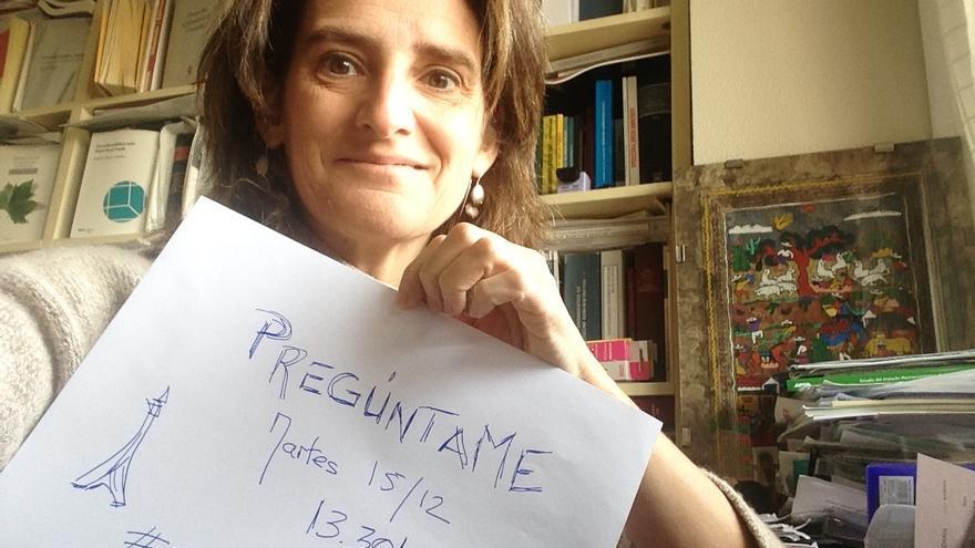 Teresa Ribera anuncia su participación en el Pregúntame