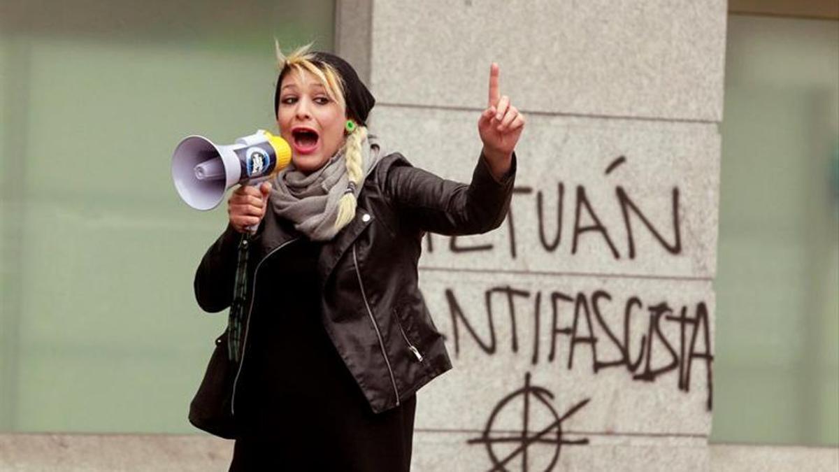 La portavoz de Hogar Social Madrid, Melisa Domínguez