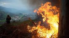 Cantabria acumula 146 incendios forestales durante el estado de alarma