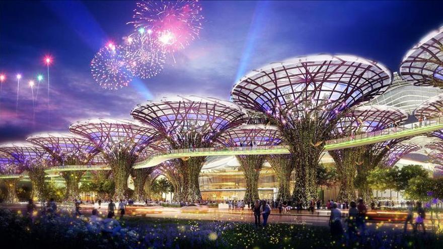 La primera fase de Eurovegas edificará un tercio de los 6,4 millones de m2 previstos
