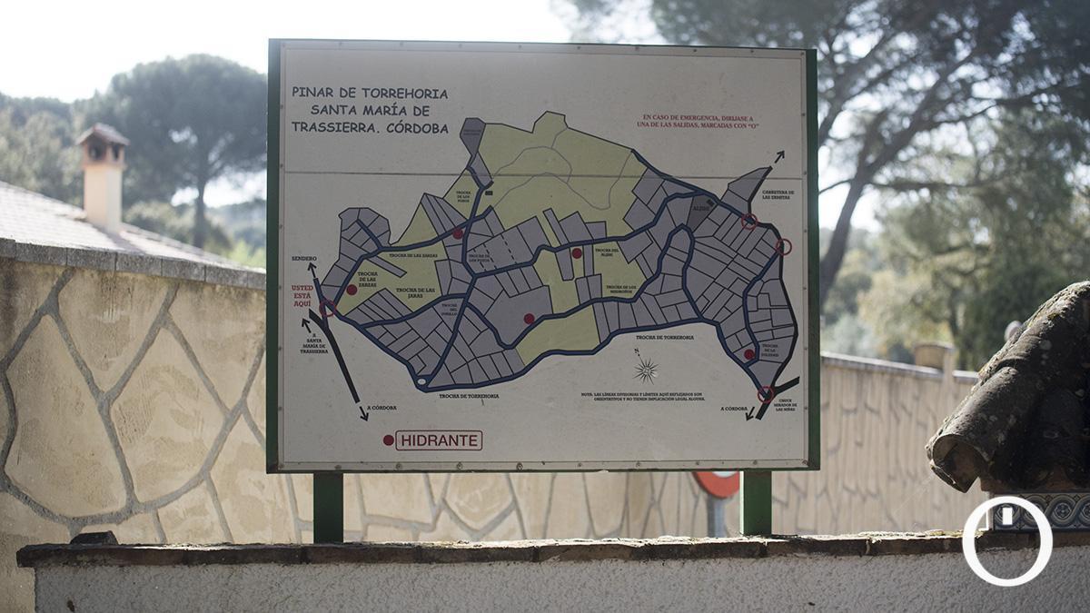 Un plano de Santa María de Trassierra
