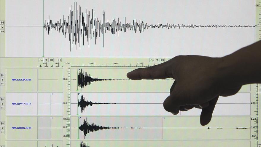 Un sismo de magnitud 4,21 grados se registra frente a las costas de Ecuador