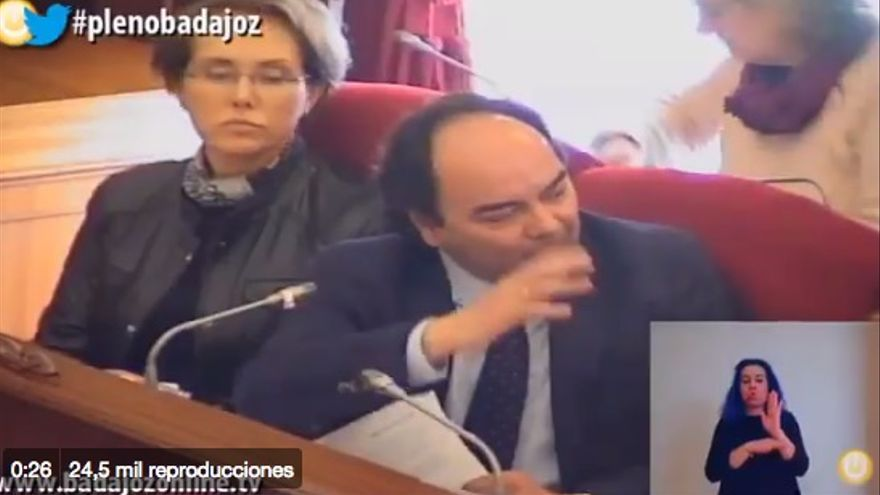 Tercer teniente de alcalde de Badajoz
