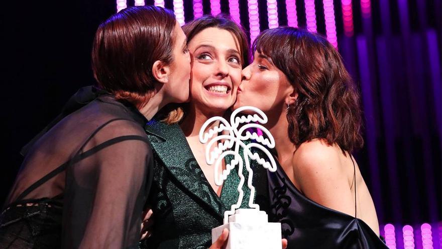 Leticia Dolera, Celia Freijeiro y Aixa Villagrán en Canneseries