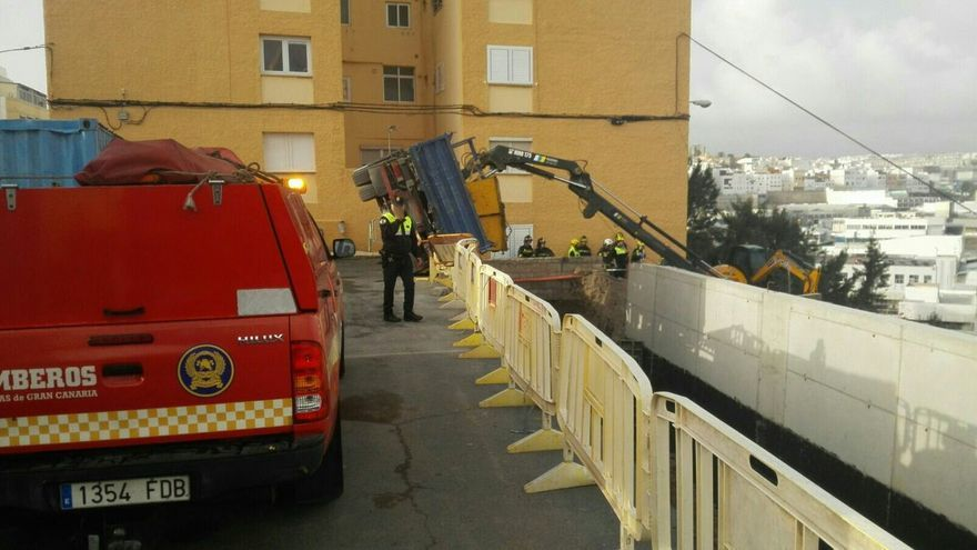 Accidente laboral en Cruz de Piedra