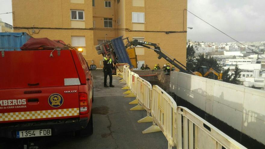 Accidente laboral en Cruz de Piedra