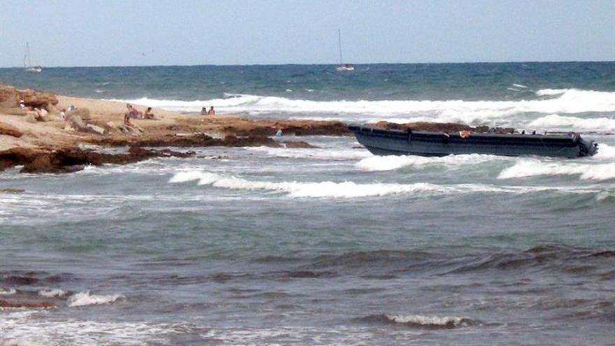 Interceptado en El Estrecho un velero con 250 kilos de hachís