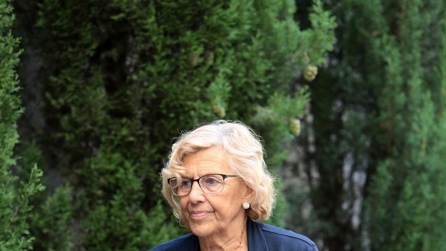 """Carmena defiende que no tiene """"absolutamente ninguna importancia"""" que número 41 de su lista pidiera el acto en Matadero"""
