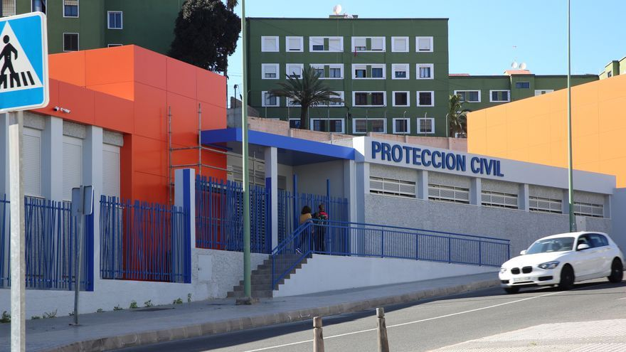 Centro de Protección Civil de El Polvorín.