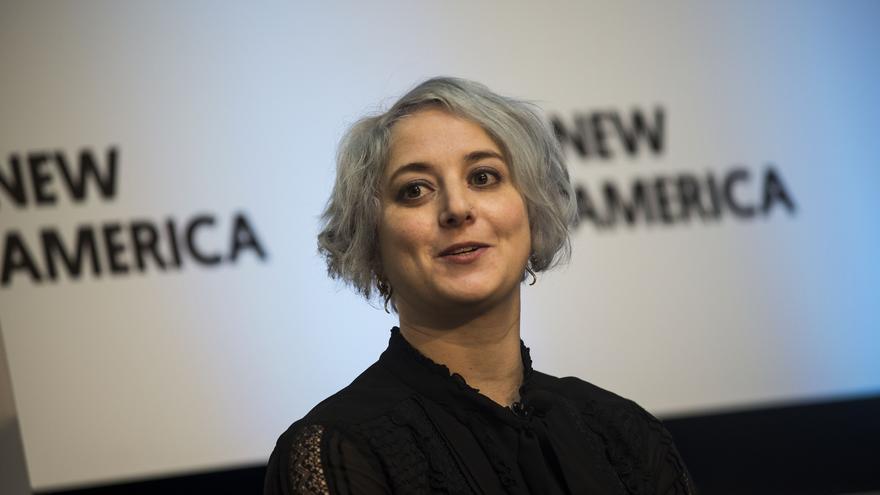 Eva Galperin, directora de Ciberseguridad en EFF (Imagen: New America | Flickr)