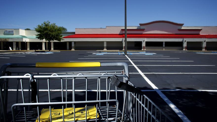 Un mall cerrado en 2009 en Brandon, Florida. EFE