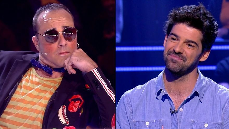 Risto, imitado en 'Got Talent' / Miguel Ángel Muñoz en '¿Quién quiere ser millonario?'