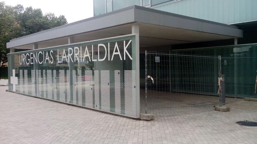 Nuevo edificio de urgencias del Complejo Hospitalario de Navarra.